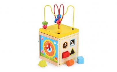 Cub educativ Montessori 5 in 1 Kabi