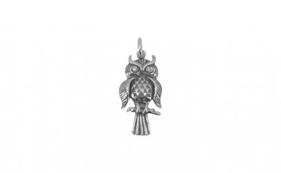 Pandantiv Argint 925, Bufnita pe