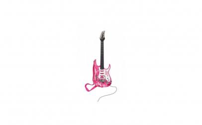 Chitara electrica cu microfon pentru cop