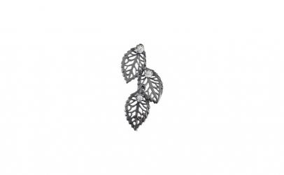 Brosa Argint 925, Frunze cu Pietre