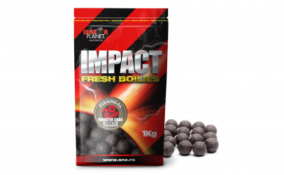Boilies monster crab 20mm 1kg