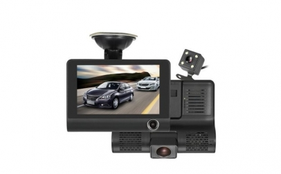 Camera auto DVR, 3 camere incluse