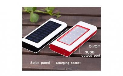 Baterie externa solara 20.000 mah