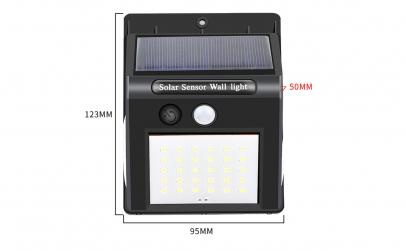 Set 4 lampi solare 40 leduri