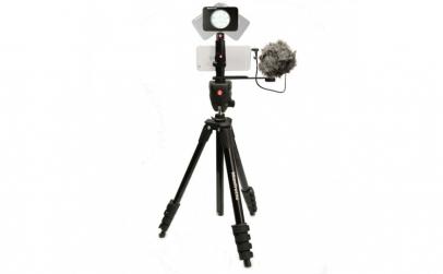 Kit pentru Vlogger LED8 Compact Action,