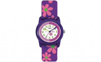 Ceas Junior, Timex, Purple Floral