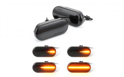 Set 2 lampi semnalizare dinamica vw seat