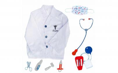 Costum de Doctor+masca chirurgicala