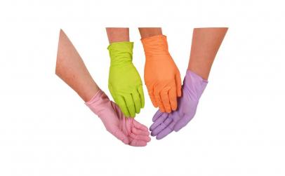 Manusi din nitril,diferite culori,M