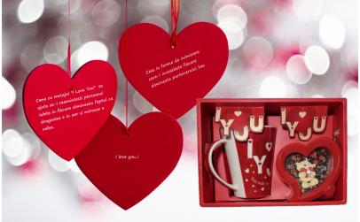 Set Valentine's day Cana si ceas