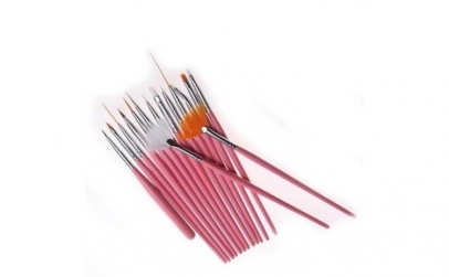 Set 15 pensule pentru manichiura