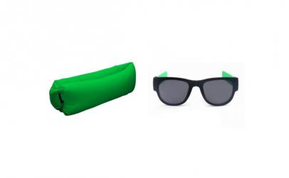 Set saltea + ochelari de soare