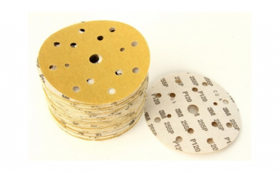 Disc abraziv Hookit P120 galben 100