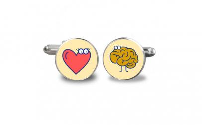 Butoni de camasa Heart vs Brain