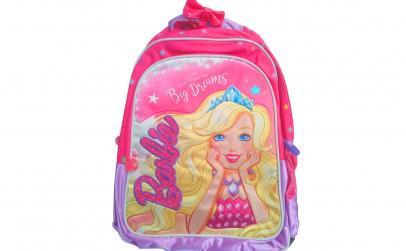 Ghiozdan scoala Barbie 2 compartimente