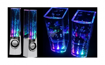 Boxe dancing water speakers