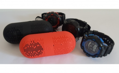 Mini boxa Bluetooth + ceas barbati