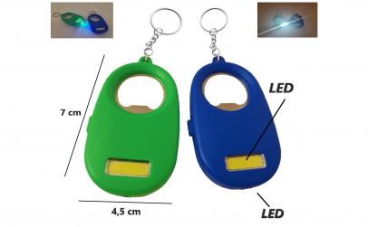 Breloc cu lumina LED