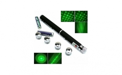 Laser verde cu 5 capete - 1000 mW