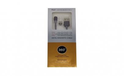 Cablu de date magnetic 3 in 1, 360°