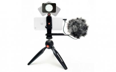 Kit pentru Vlogger cu minitrepied,