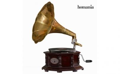 gramofon Octogonal   Old Style