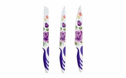Set 3 Cutite Colorate model floral