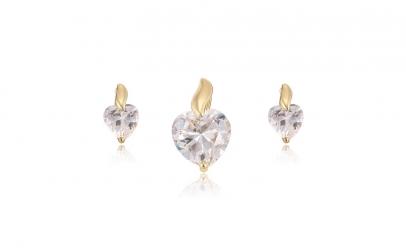 Set bijuterii Luxury Heart