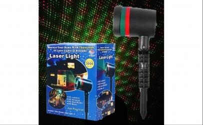 Proiector laser de Craciun