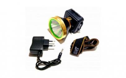 Lanterna cap cu acumulator