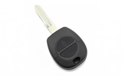 Nissan   Carcasa cheie 2 butoane cu