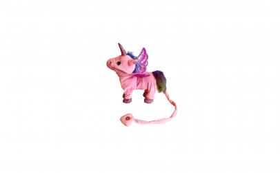 Unicorn mergator de plus, muzical