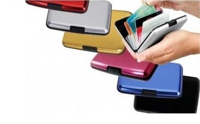 Portofel aluminiu Securitate Carduri
