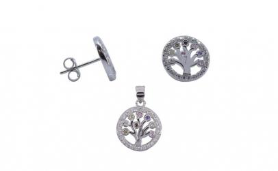 Set Argint 925 Copac in Cerc