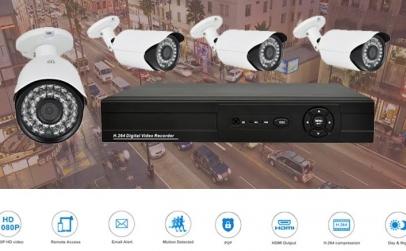 Sistem supraveghere FULL HD 2 MPx