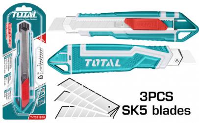 TOTAL - Cutter - 18x100mm - 169mm