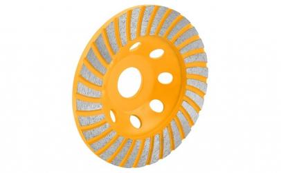 Piatra de polizor cupa turbo segmentata
