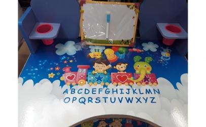 Birou pentru copii cu scaunel