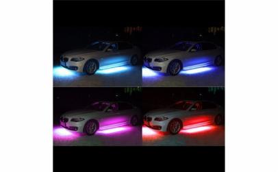 Lumina 4 benzi RGB LED