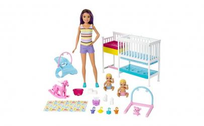 Papusa Barbie cu Camera bebelusi