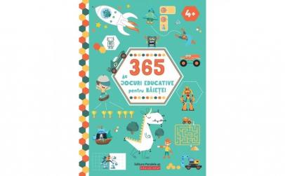 365 de jocuri educative pentru baietei