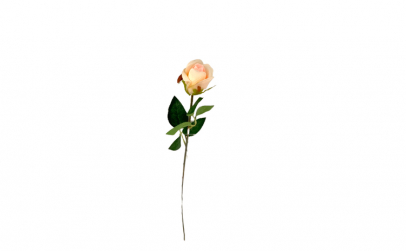 Trandafir artificial decorativ, 50 cm
