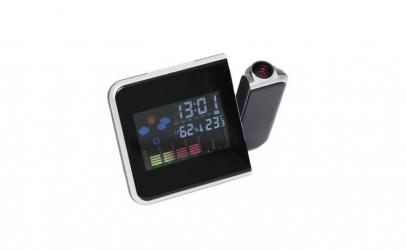 Ceas cu proiectie, LCD, alarma