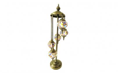 Lampadar, mozaic color