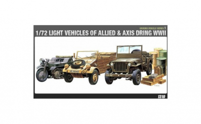 1:72 LIGHT VEHICLES OF ALLIED