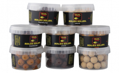Boilies Solubil Dual Fish 100g