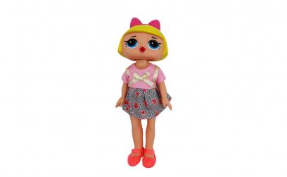 Papusa mare cu rochita roz