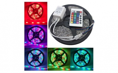 Banda Led RGB cu lumina multicolora