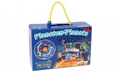 Sa invatam planetele   Puzzle circular