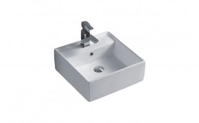 Lavoar blat alb ceramica sanitara